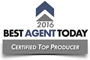 Best Agent Today Top Producer Certified